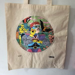 ASOS canvas bag